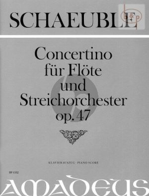 Concertino Op.47 (1962) (Flute-String Orch.)