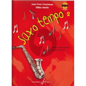 Fourmeau Gilles Saxo Tempo Vol.2 (Method for Beginners) (Bk-Cd) (with Piano Accompaniment)