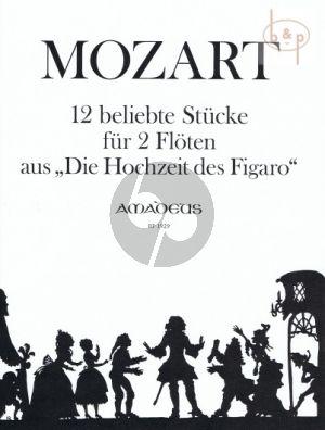 12 beliebte Stucke aus Der Hochzeit des Figaro