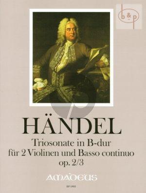 Triosonate B-dur Op.2 No.3