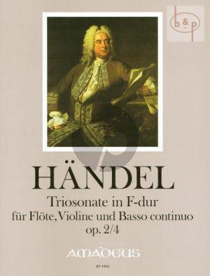 Triosonate F-dur Op.2 No.4