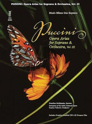 Puccini Opera Arias for Soprano and Orchestra Vol.3 (Bk-Cd) (MMO)