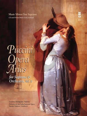 Puccini Opera Arias for Soprano and Orchestra Vol.2 (Bk-Cd) (MMO)