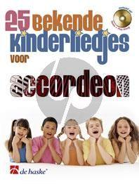 25 Bekende Kinderliedjes Accordeon