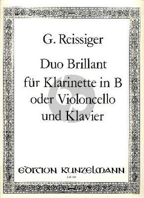 Reissiger Duo Brillant Op.130 Clarinet[Violonc.]-Klavier