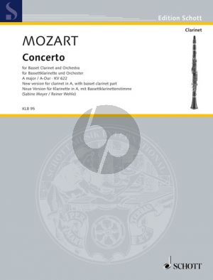 Mozart Concerto A-major KV 622 A Clar.