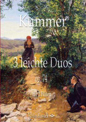 Kummer 3 leichte Duos Op.74 2 Flutes