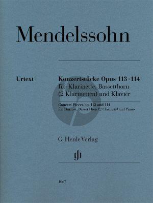 Konzertstucke Op.113-114