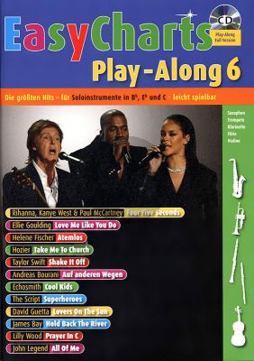 Easy Charts Play-Along Vol.6