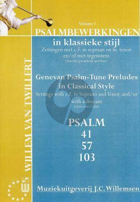 Psalmbewerkingen in Klassieke Stijl Vol. 1
