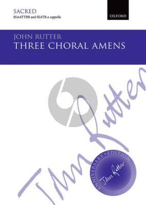3 Choral Amens