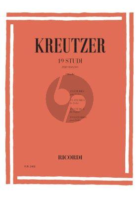 Kreutzer 19 Studi Violino (Abbado)