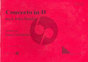 Stanley Concerto in D-major nach John Stanley Orgel