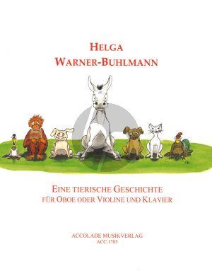 Warner-Buhlman Eine tierische Geschichte Oboe (oder Violine)-Klavier