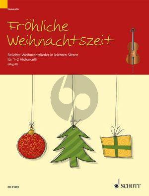 Frohliche Weihnachtszeit 1-2 Violoncellos