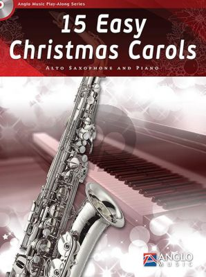 15 Easy Christmas Carols Alto Sax.-Piano