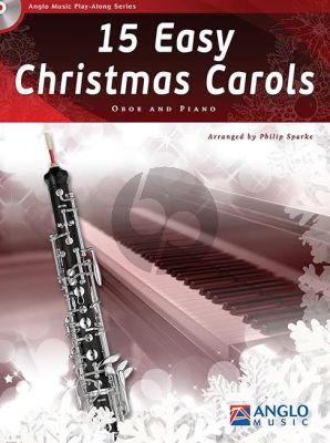 15 Easy Christmas Carols Oboe-Piano