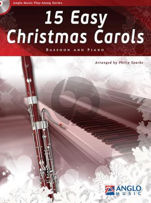 15 Easy Christmas Carols Bassoon-Piano (arr. Philip Sparke