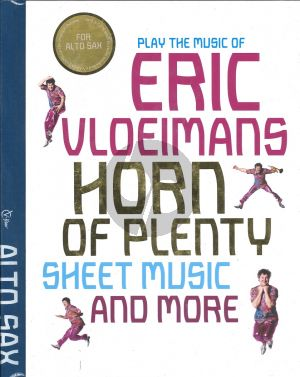 Vloeimans Horn of Plenty for Alto Saxophone Deel 1 (Bk-Cd)