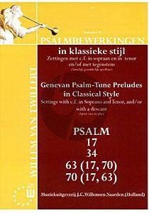 Psalmbewerkingen in Klassieke Stijl Vol.2
