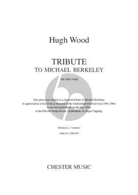 Tribute to Michael Berkeley