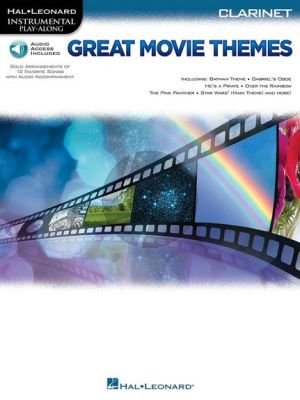 Great Movie Themes Intrumental Play-Along Clarinet