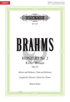 Concerto No.2 B-flat major Op.83 (Piano-Orch.)