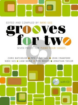 Grooves for Two (7 Pieces for Piano 4 Hands) (Bk-Cd)