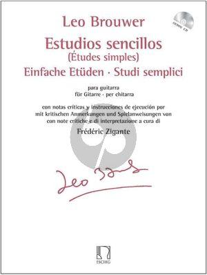 Etudes simples (Estudios Sencillos) Guitare