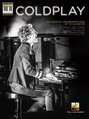 Coldplay Authentic Transcriptions Of 12 Classics Keyboard