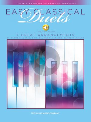 Easy Classical Duets Piano 4 Hds (Book with Audio )