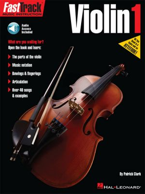 Clark  FastTrack Violin Method Book 1 (Book with Audio)