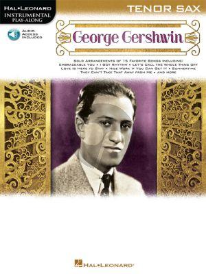 George Gershwin Instrumental Play-Along for Tenor Sax.