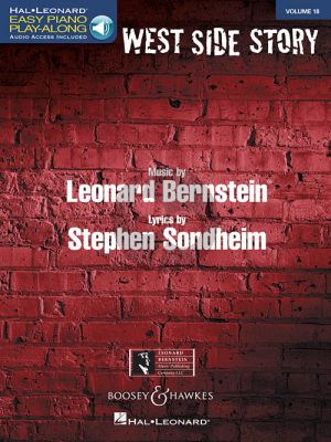 Bernstein West Side Story (Easy Piano Play-Along Series Vol.18)