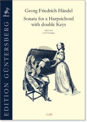 Handel Sonata in G major HWV 579 for a Harpsichord with double Keys