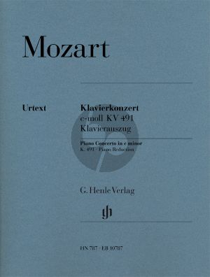 Mozart Concerto in c-minor KV 491Piano-Orchestra (piano red.) (Henle)