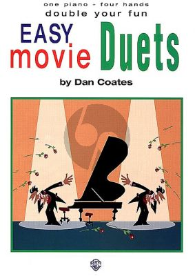 Double Your Fun - Easy Movie Duets Piano 4 Hds