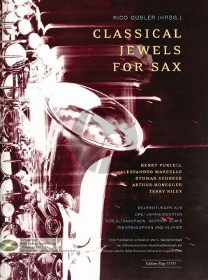 Classical Jewels for Sax (Bearbeitungen aus drei Jahrtunderten)