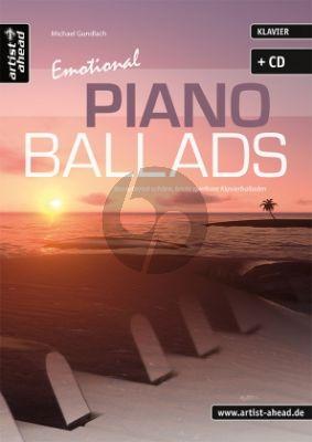 Gundlach Emotional Piano Ballads Buch-Cd