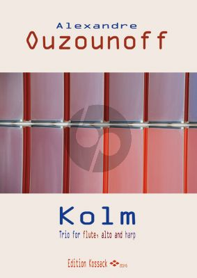 Ouzounoff Trio Flute-Viola-Harp (Score/Parts)