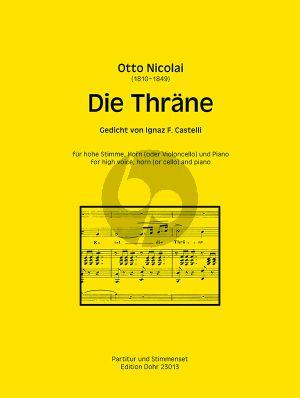 Nicolai Die Thräne Op. 30 (Gedicht von J. F. Castelli)