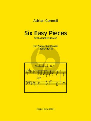 Connell 6 Easy Pieces Piano