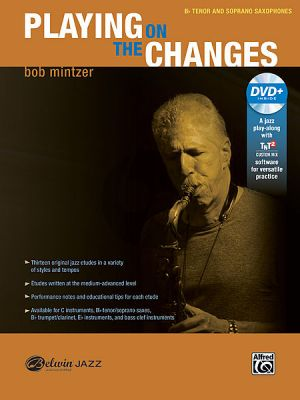Mintzer Playing on the Changes Bb Instruments (Tenor/Soprano Sax.) (Bk-DVD)
