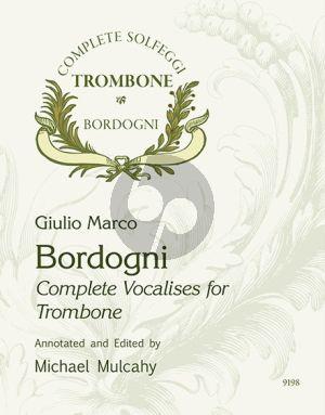 Bordogni Complete Vocalises for Trombone