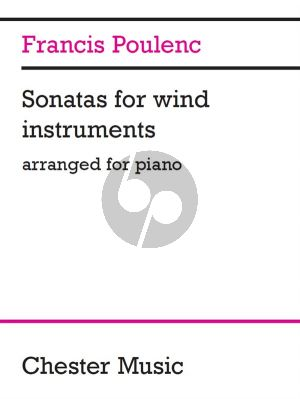 Poulenc Sonatas for Wind Instruments Arranged for Piano