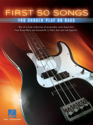 First 50 Songs You Should Play on Bass