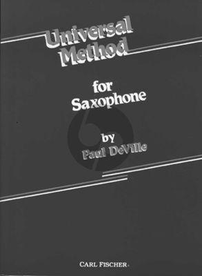 Deville Universal Method for Saxophone