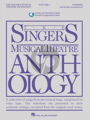 The Singer's Musical Theatre Anthology Vol.6 Soprano