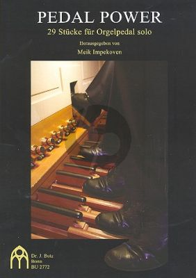 Pedal Power 29 Stücke für Orgelpedal solo
