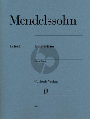 Mendelssohn Klaviertrios Op.49 and Op.66 Vi.-Vc.-Piano